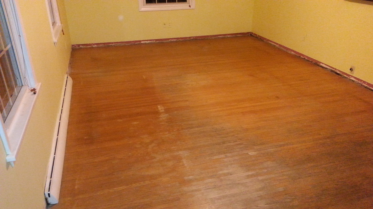 Before hardwood floor resurfacing crawford construction for Resurfacing wood floors