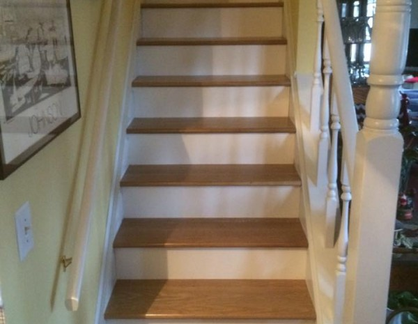 stairs-refinished